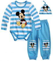 babies-disney-mickey-body-pour-bébé-avec-pantalon-et-capuche-bleu-thumbs-13399