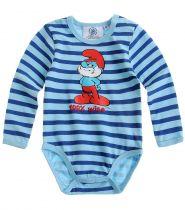 babies-les-schtroumpfs-body-pour-bébé-bleu-thumbs-13003