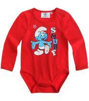 babies-les-schtroumpfs-body-pour-bébé-rouge-thumbs-11552