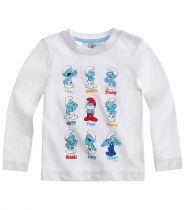 babies-les-schtroumpfs-tee-shirt-manches-longues-blanc-thumbs-13259