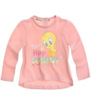 babies-looney-tunes-tee-shirt-manches-longues-rose-thumbs-11278